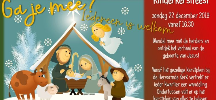 22 december: kinderkerstfeest
